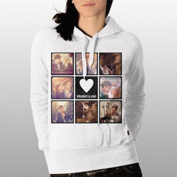 Ljubavni piktogram poklon majice i duksevi