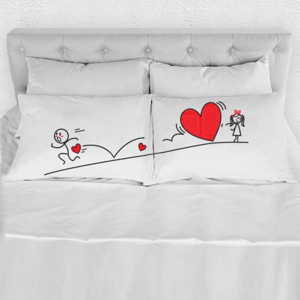 Moja ljubav te prati poklon jastučnice