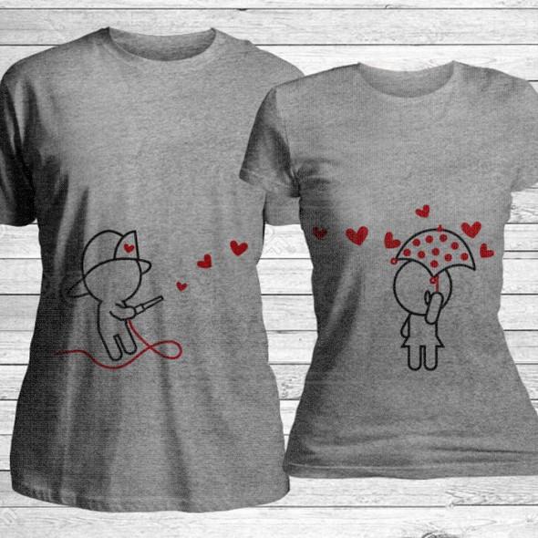 Obasipa je ljubavlju poklon majice i duksevi
