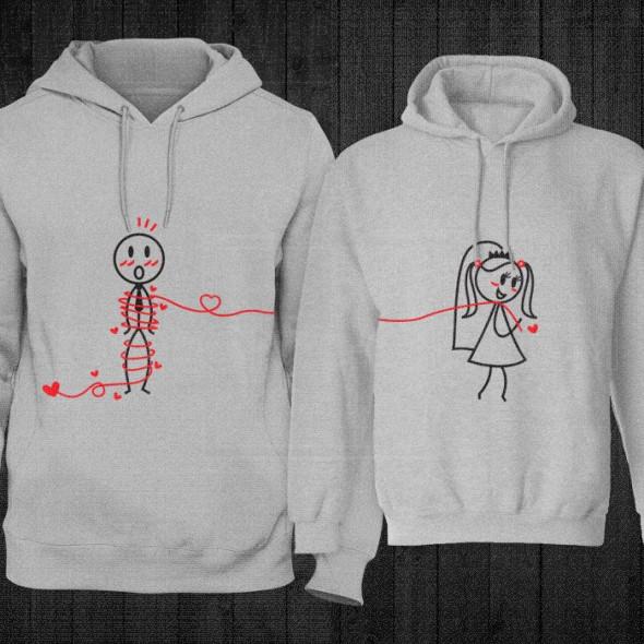 Kanap ljubavi poklon majice i duksevi
