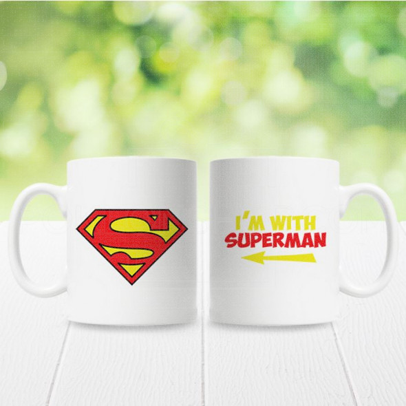 Ja sam sa Supermenom poklon šolje
