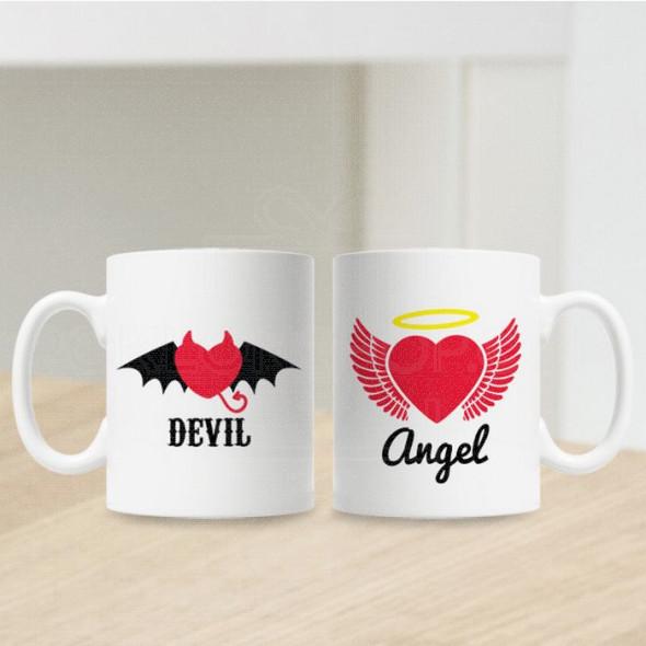 Đavo i Anđeo poklon šolje