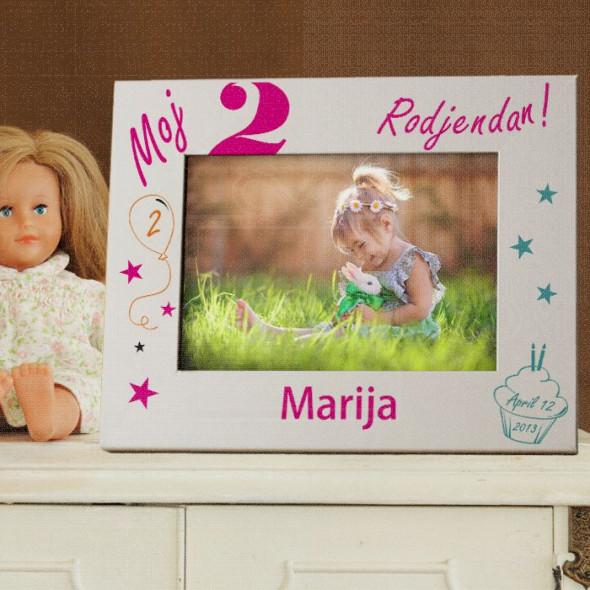 Moj 2. rođendan poklon ram za slike