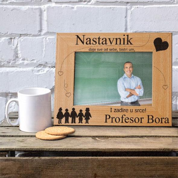 Naš nastavnik poklon ram za slike
