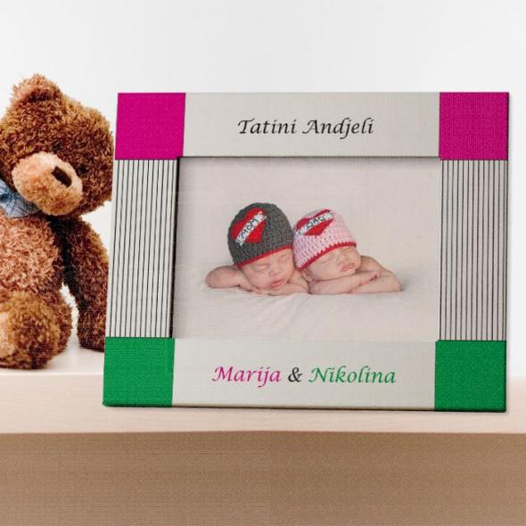 Tatini anđeli poklon ram za slike