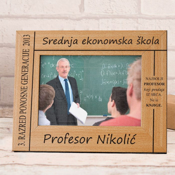 Najbolji profesor poklon ram za slike