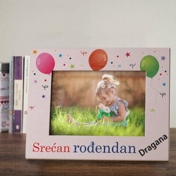 Srećan rođendan poklon ram za slike