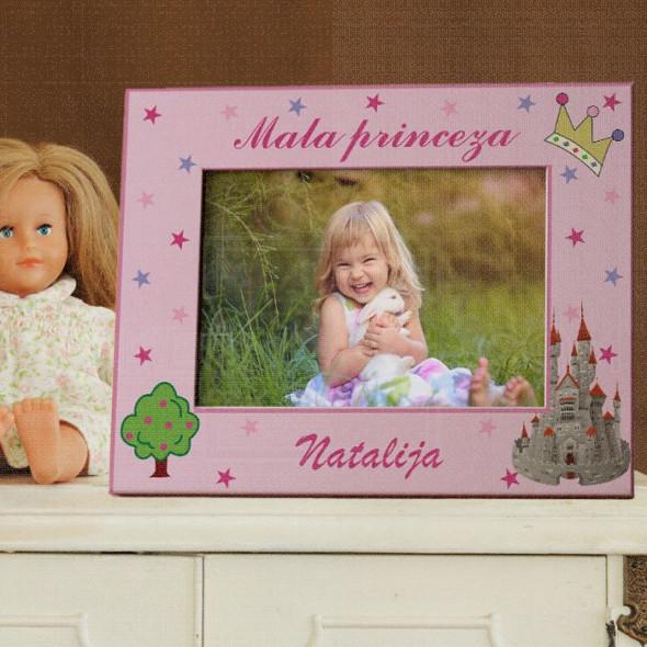 Mala princeza poklon ram za slike