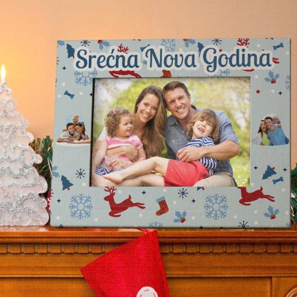 Nova Godina poklon ram za slike