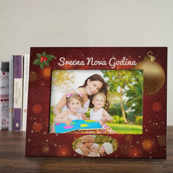 Novogodišnji ram za slike poklon ram za slike
