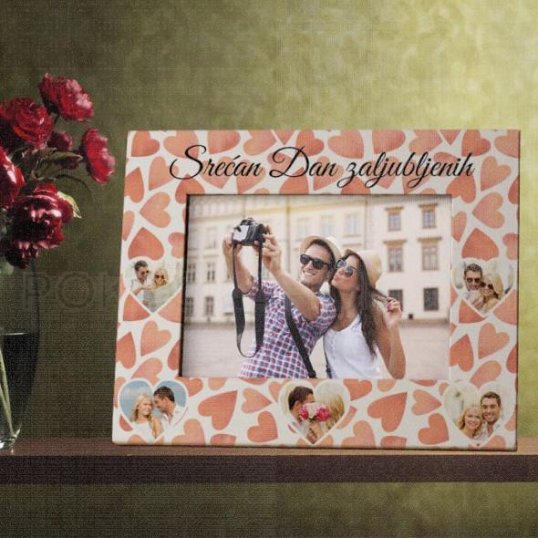 Dan za zaljubljene poklon ram za slike