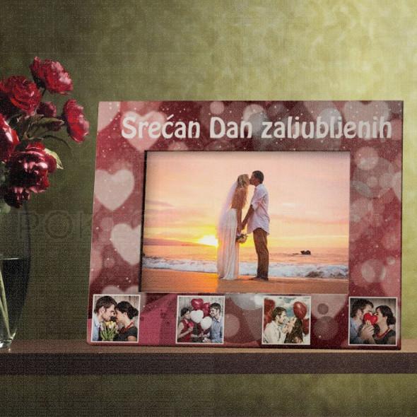 Kolaž za zaljubljene poklon ram za slike