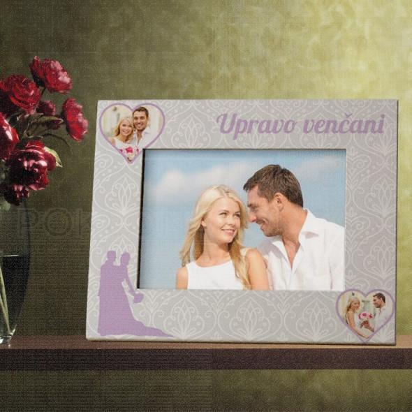Upravo venčani poklon ram za slike