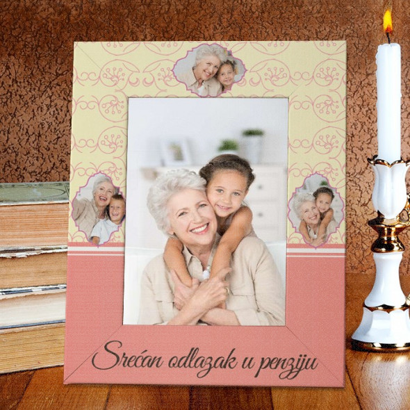 Ram za penziju poklon ram za slike