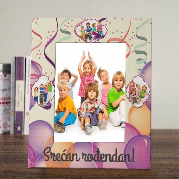 Rođendansko slavlje poklon ram za slike