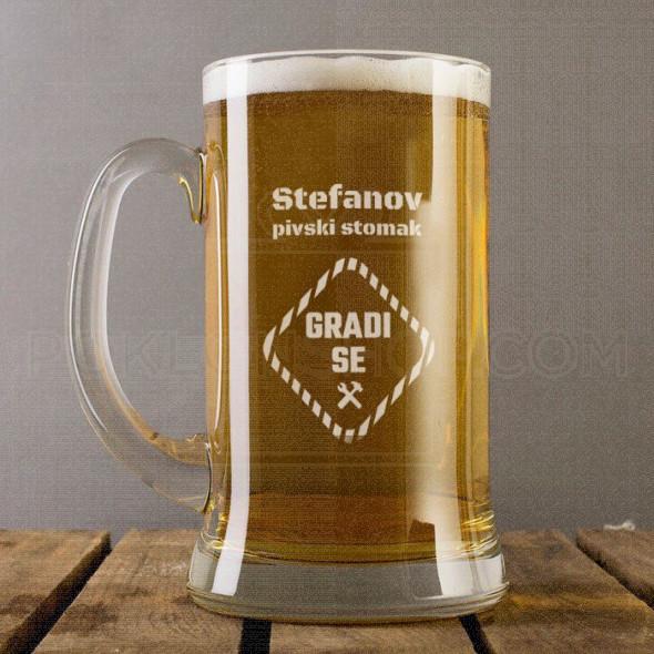 Pivski stomak poklon čaša za pivo