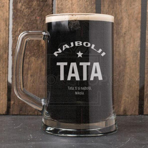 Najbolji otac poklon čaša za pivo
