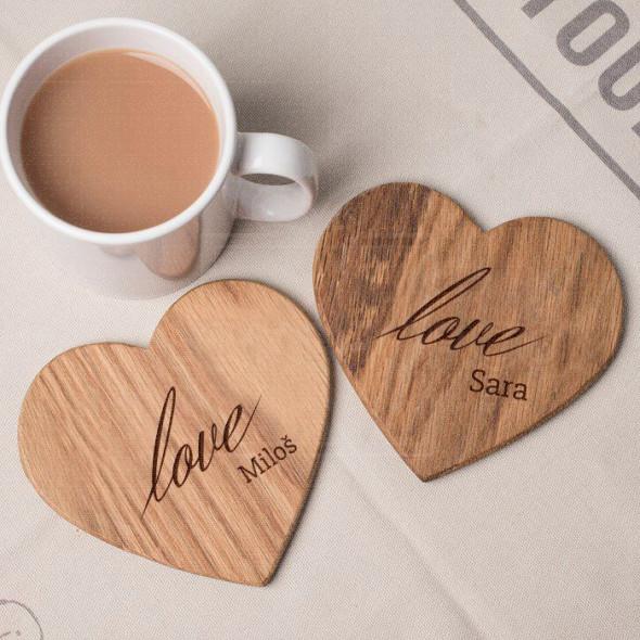 Love Love poklon set podmetača