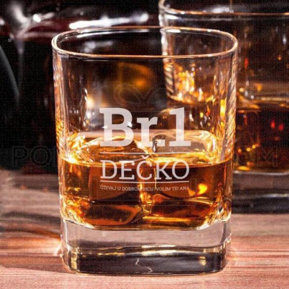 Br.1 Dečko poklon čaša za viski