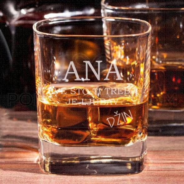 Sve što ti treba poklon čaša za viski