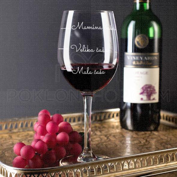Mamina poklon čaša za vino