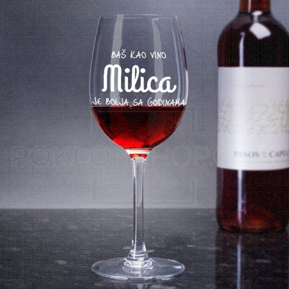 Što starija sve je bolja poklon čaša za vino