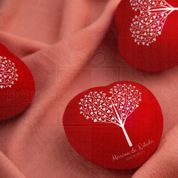 Srce antistres poklon privezak