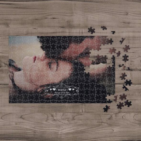 Poklon puzzle sa ukrasima