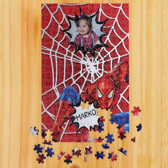 Poklon puzzle Spiderman uspravno