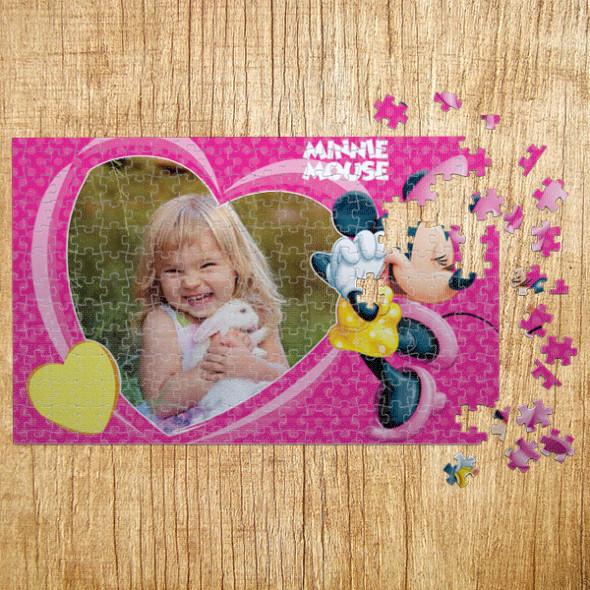 Poklon puzzle Mini srce