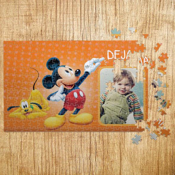 Poklon puzzle Miki i Pluton