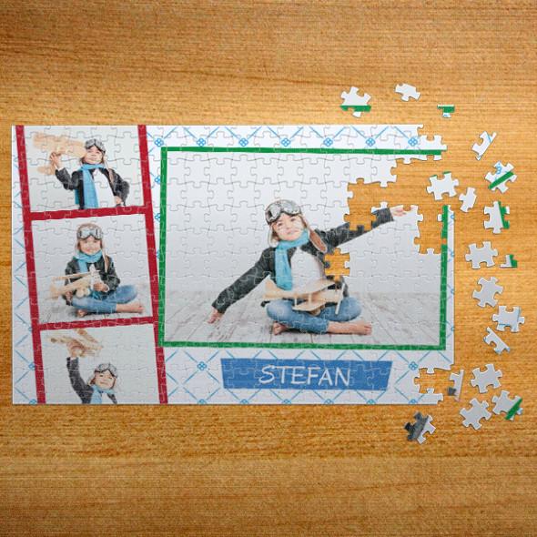 Poklon puzzle Foto kolaž