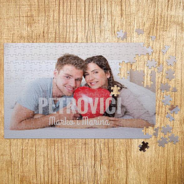 Poklon puzle - Mi smo porodica