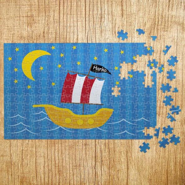 Poklon puzzle Moj brodić