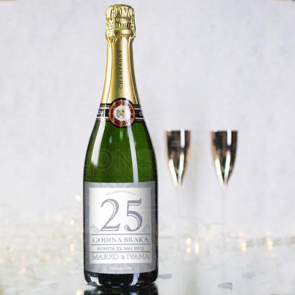 Naš brak  poklon šampanjac