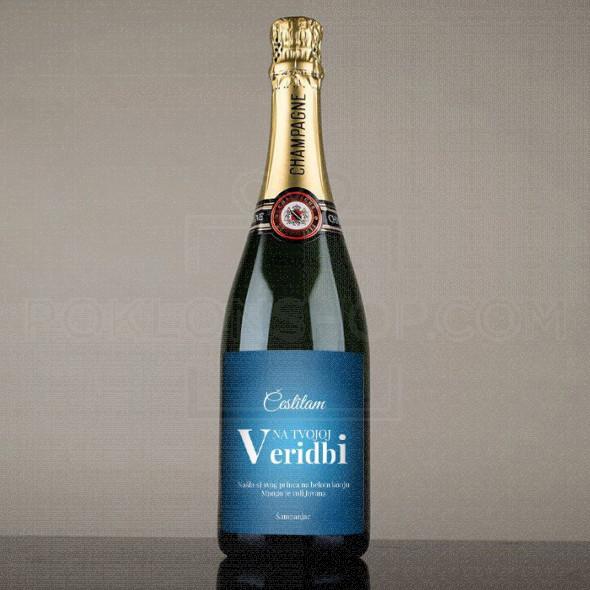 Veridba poklon šampanjac