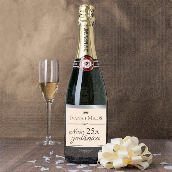 Još jedna godišnjica poklon šampanjac