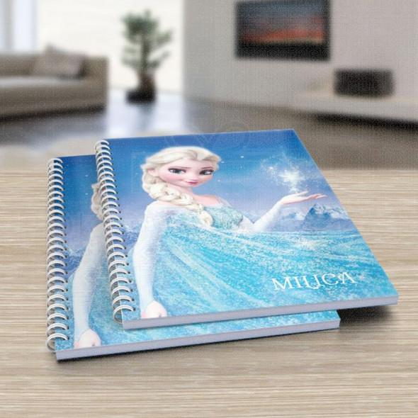 Frozen poklon sveska za školu
