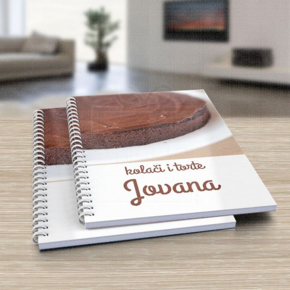 Moja slatka torta poklon dnevnik