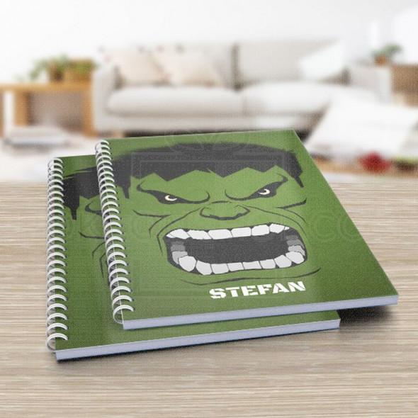 Strašni Hulk poklon sveska za školu