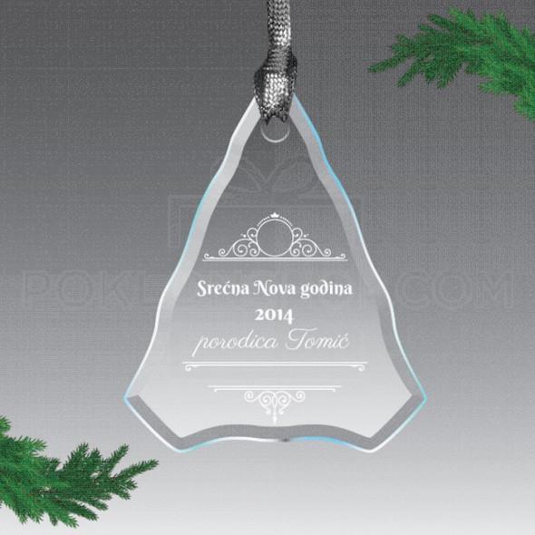 Srećna Nova godina poklon ukras
