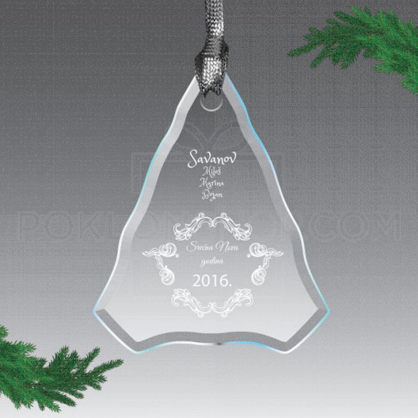 Božićno drvo poklon ukras
