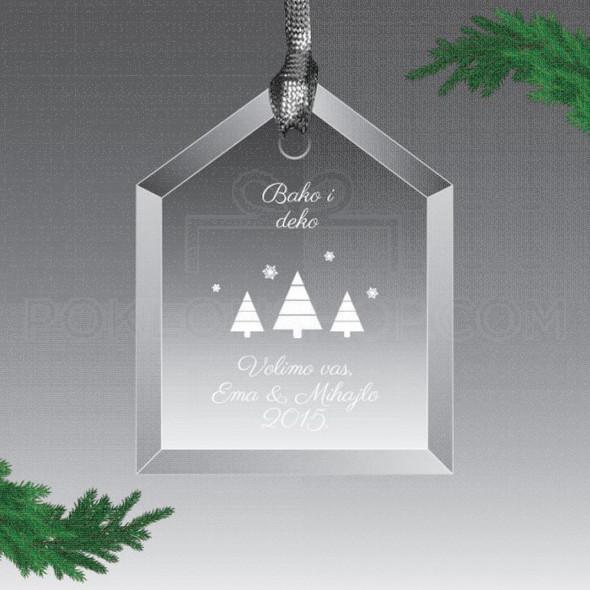 Bako i deko volimo vas poklon ukras