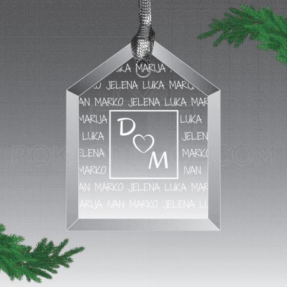Dom poklon ukras