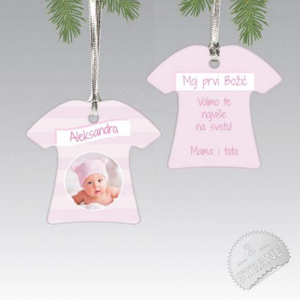 Rođenje devojčice poklon ukras