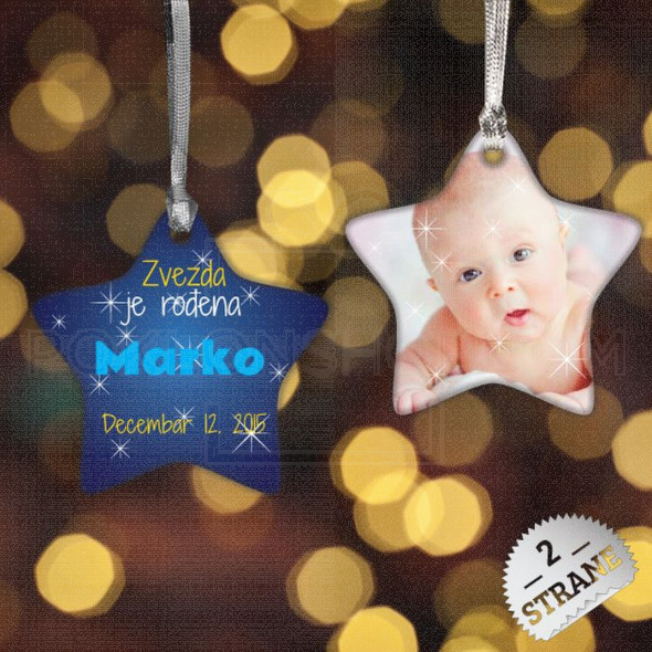 Mala zvezda poklon ukras