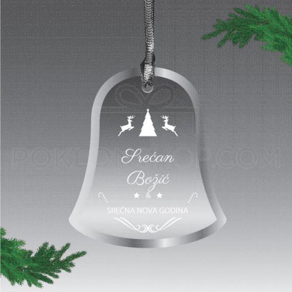 Praznično zvonce poklon  ukras