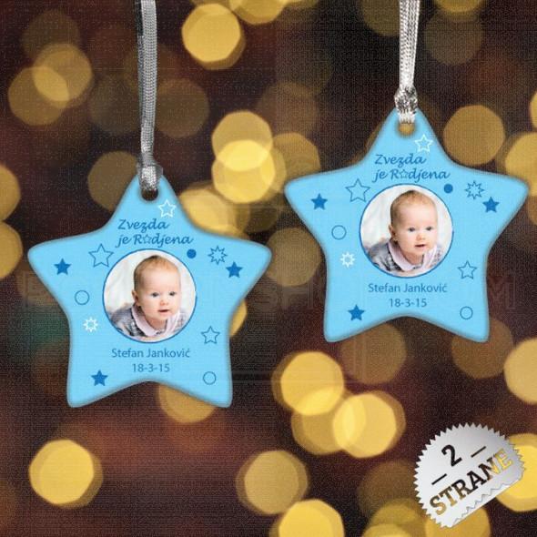Bebac u zvezdi poklon ukras