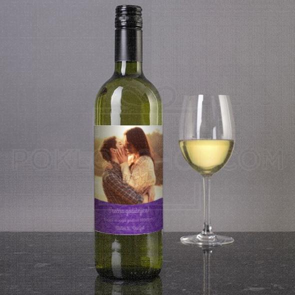 Srećna godišnjica poklon vino