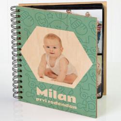 Njegov prvi rodjendan poklon album za slike